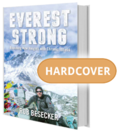 Everest Strong: Reaching New Heights with Chronic Illness - Hardcover Book