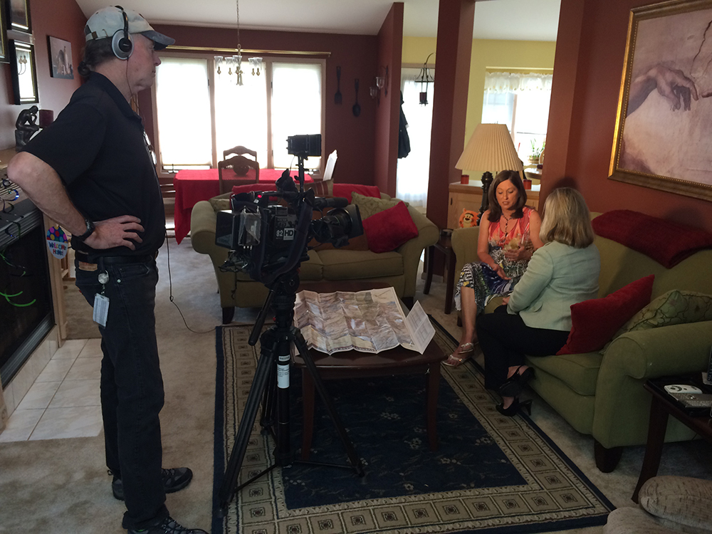 Interview with CBS News